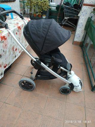 coche trio,minicuna,colchon,silla paseo