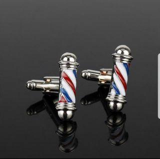 gemelos barber pole peluqueria barbería