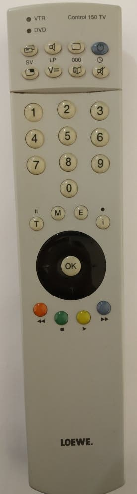 Mando a distancia Loewe Control 150 TV