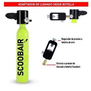 SCOOBAIR - La Mini Botella de Buceo de 0,5L