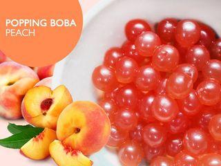 Bubble tea-bobas
