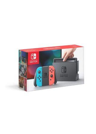 Nintendo Switch - Consola color Azul Neón/Rojo Neó