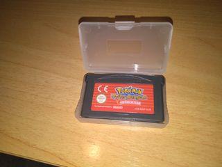 Pokémon Equipo de Rescate Rojo Gameboy