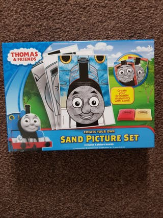 brand new thomas create your own sand pictures