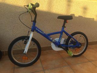 """Bicicleta niños BTWIN 16"""", 4-6 años"""