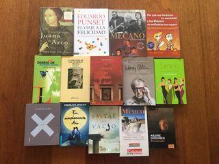 Me mudo de país y vendo libros casi nuevos