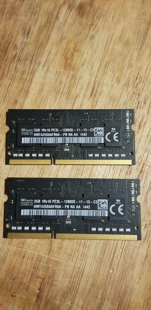 2x2gb 4gb Ram de Alta Velocidad Macbook ddr3l