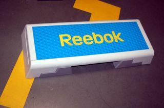 Material deportivo STEP fitness Reebok COLOR AZUL