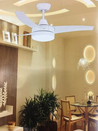 Lámpara ventilador de techo 18w LED OFERTA