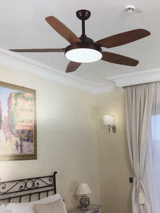 Lámpara Ventilador de techo 24w LED