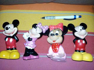 LOTE 19 - disney Mickey Minnie muñecos