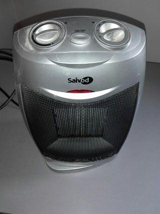 Calefactor ceramico giratorio.