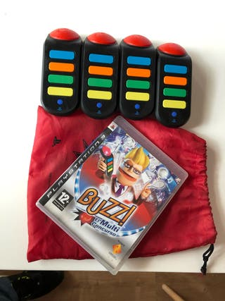 Juego Buzz PS3 + mandos