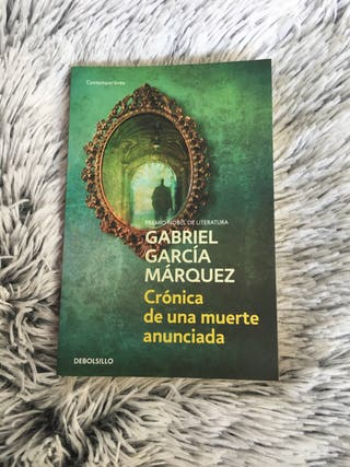 Crónica de una muerte anunciada de G.G. Márquez