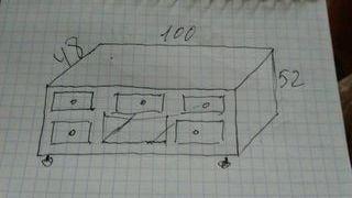 Mueble para T.V.