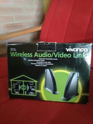 Transmisor audio-video inalambrico