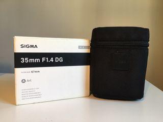 Sigma 35mm F/1.4 DG (A)