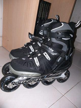 Patines Rollerblade t 38-40 equipo protección