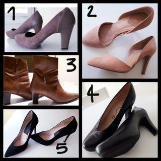 zapatos,botines,varios 36 ,37,41