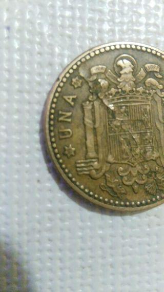 moneda con error de una peseta