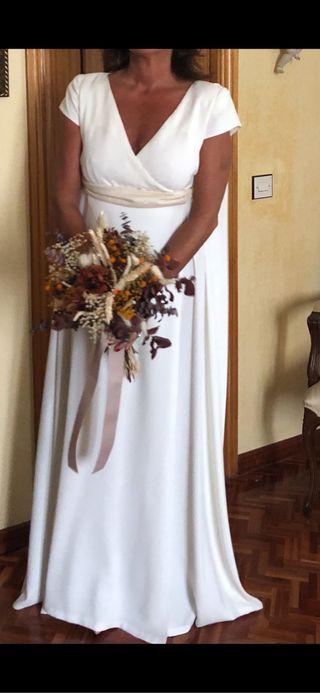 vestido de novia de segunda mano en wallapop