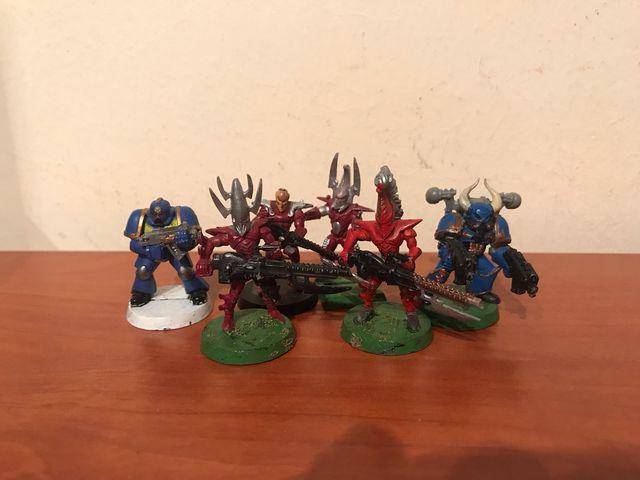 Warhammer 40 marines eldars antiguos