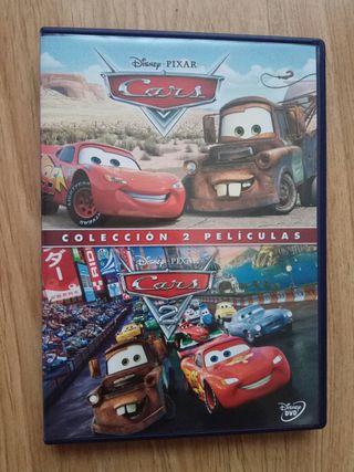 colección 2 películas de Cars