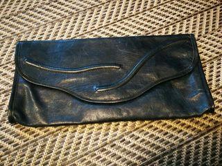 Bolso de mano vintage piel auténtica