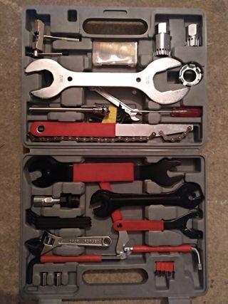 Maletin herramientas bicicleta