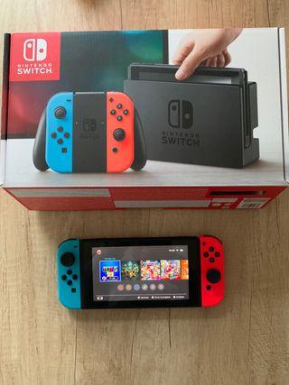 Nintendo Switch + 5 jocs