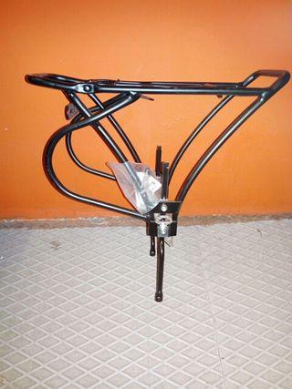 portabultos bicicleta freno de disco