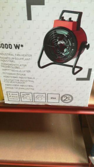 Calefactor Industrial 3000w