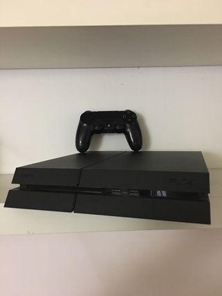 Playstation 4 Ps4 + juego ( Final Fantasy Dissidia