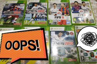 5 juegos Xbox 360