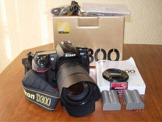 Cámara Nikon D300 con Objetivo Nikon 18-105 mm