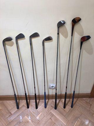 Palos de golf antiguos