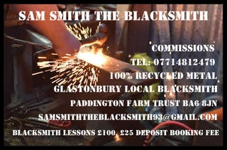 blacksmith experience days / lessons