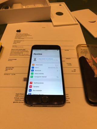 Iphone 6 Space gray 64gb LIBRE con factura