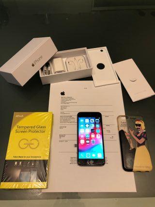 Iphone 6 64gb gris espacial LIBRE con factura