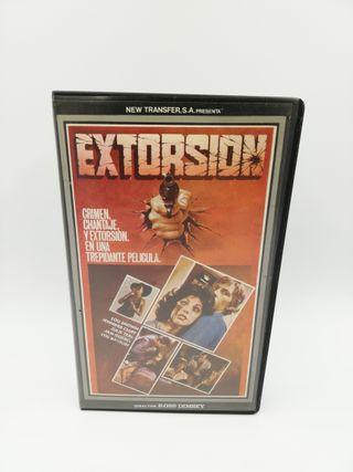 EXTORSION VHS