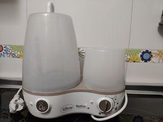 Esterilizador calienta biberones vapor