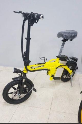 Bicicleta eléctrica plegable Flywheel