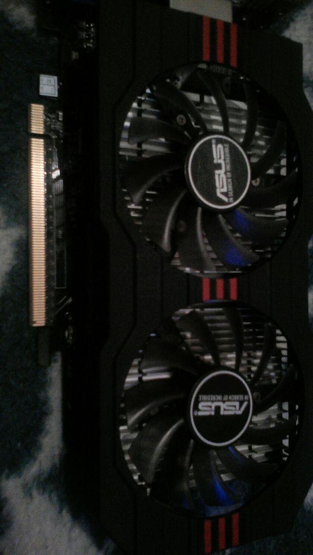 Gráfica GTX 750 Ti 2 gb Asus