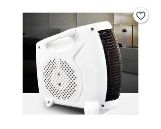 Fan heater ventilation