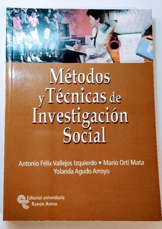 Métodos y Técnicas de Investigación Social