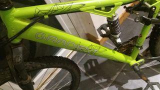 Gradient mountain bike