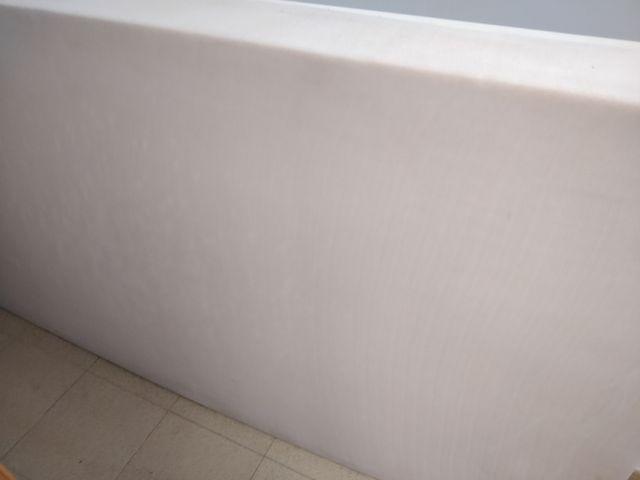 Colchón de espuma consistente con funda de aloe v.