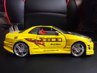 NISSAN SKYLINE DE KENTOYS 1:24