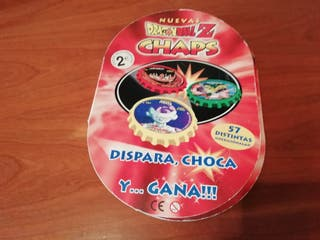 ALBUM DRAGON BALL CHAPS MATUTANO COMPLETO