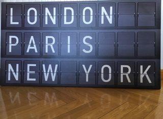 Cuadro London, Paris , New York